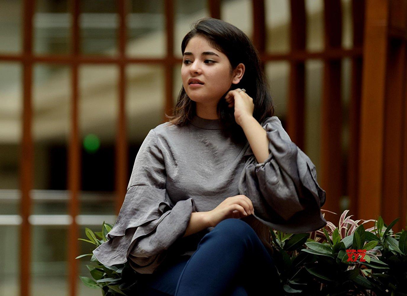 Zaira Wasim Times of Youth